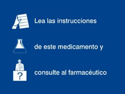 CONSULTE AL (SU) FARMACEUTICO