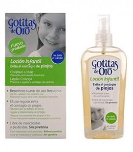 GOTITAS DE ORO LOCIÓN REPELENTE DE PIOJOS 250ML