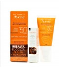 AVENE CREMA COLOREADA SPF 50 + MASCARA PESTAÑAS COUVRANCE