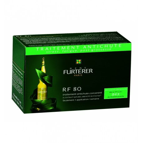 Rene Furterer RF80 Tto.Concent. Caída Reaccional, 12ampollas.