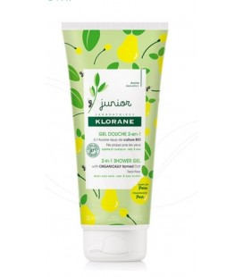KLORANE JUNIOR GEL DE DUCHA 2 EN 1, A LA AVENA BIO 200 ML