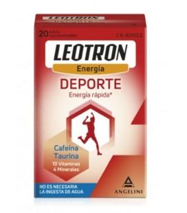 LEOTRON ENERGIA DEPORTE 20 SOBRES