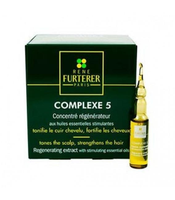 Rene Furterer Complexe 5 Concent Veget Rege Cabello Graso.