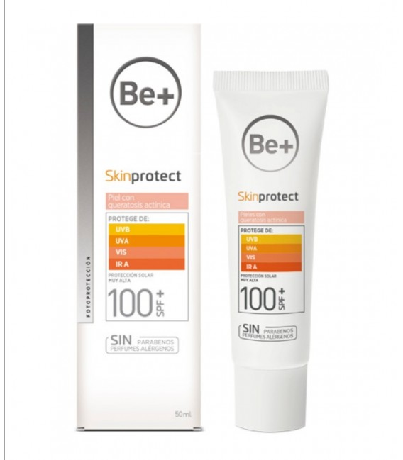 Be+ Gel facial SPF50+ piel grasa y/o tendencia acnéica