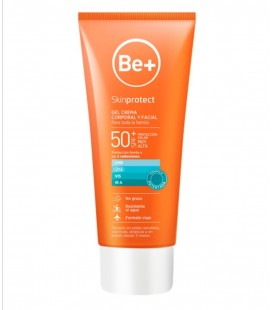 Be+ gel crema familiar spf 50+ 200 ml