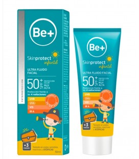 BE + SKIN PROTECT INFANTIL SPF 50 + (50ml)