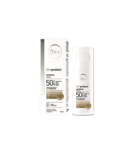 BE+Skinprotec antiedad facial SPF50+