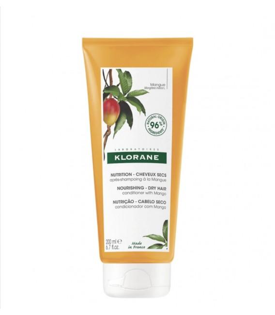 Klorane Nutrición - Cabello Acondicionador de Mango 200 ml