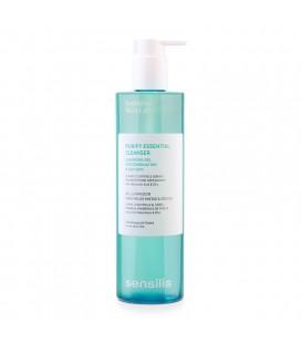 Purify Essential Cleanser Gel Limpiador Pieles Mixtas y Grasas 400 ml Sensilis