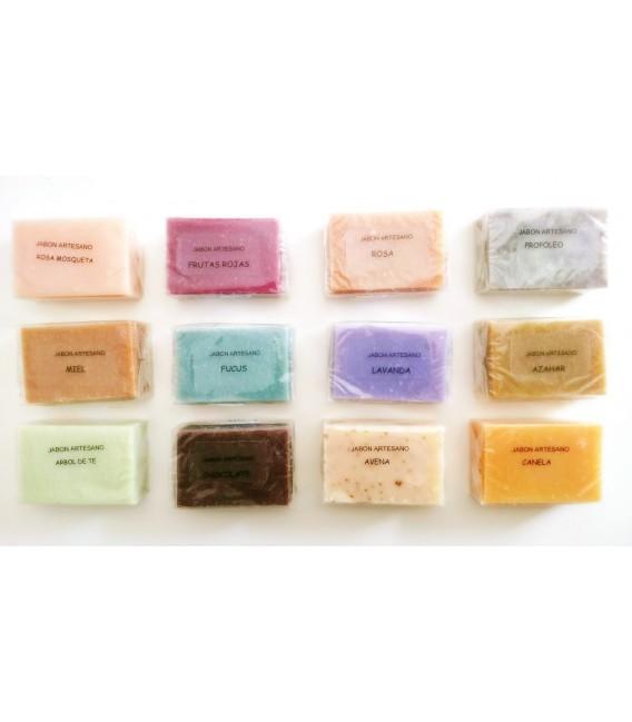 Jabón artesanal perfumado.Limon