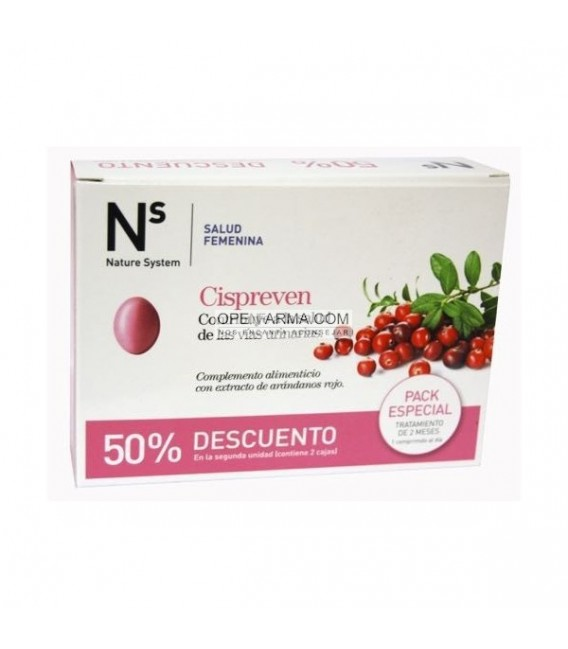 Cispreven 30 comprimidos. Pack especial 50% dto .