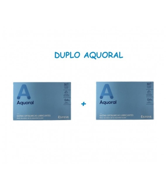 AQUORAL 30 MONODOSIS DUPLO