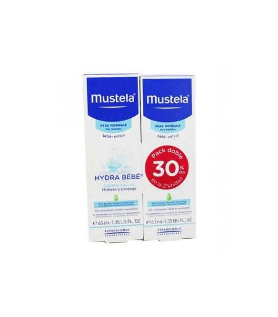 Mustela Hydra bebe crema facial 2º-30%dot.