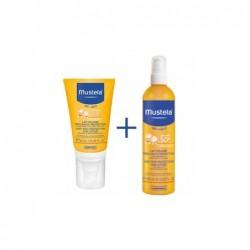 Mustela pack leche solar 40ml+ leche solar 300ml 50+