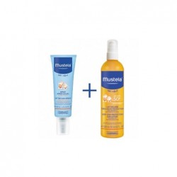 Mustela pack leche solar 300ml+ after sun spray 125ml.