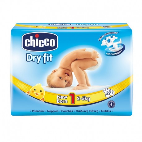 CHICCO DRY FIT ADVANCE Nº1 2-5KG