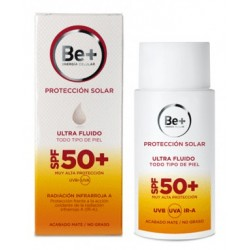 Be+ PROTECTOR ASOLAR ULTRA FLUIDO SPF50+
