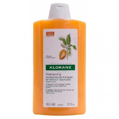 Klorane Champú Nutritivo a la Manteca de Mango