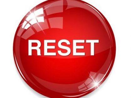 Resetear
